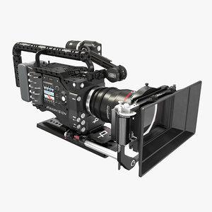 3D panavision dxl camera