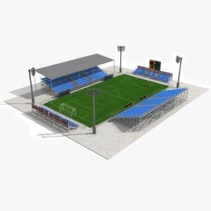 mini-foot field model