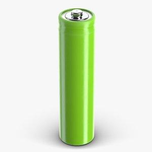 3D model battery pbr