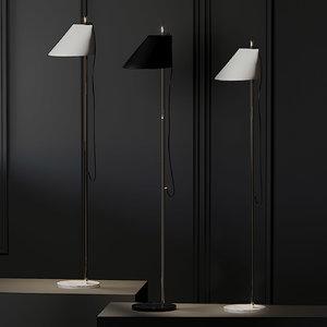 floor lamp louis poulsen 3D model