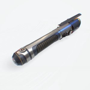 3D light saber model