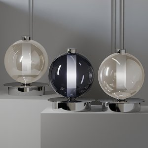 3D model table lamps cangini tucci
