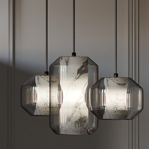 ceiling lights lee broom 3D