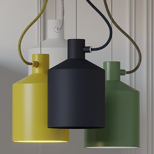 3D ceiling lights zero silo