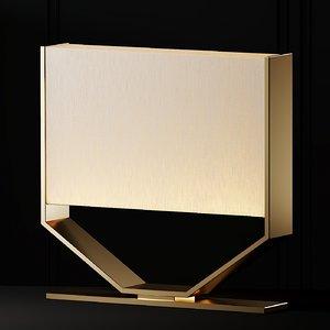 table lamps regency michele 3D model