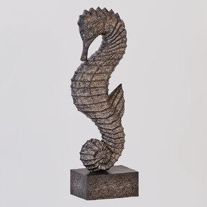 regina andrew wood seahorse 3D