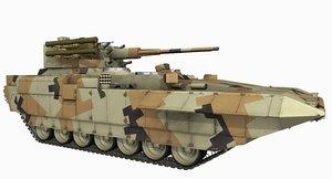 3D t15 btt russian apc model