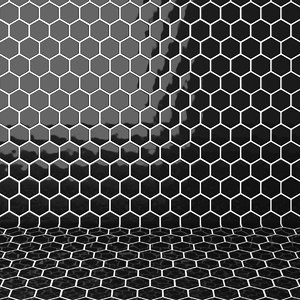 3D tiles hexagon