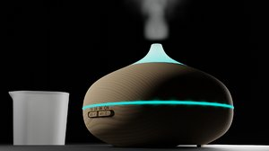 3D essential oil diffuser