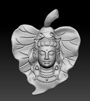 Buddha pendant 3D print model