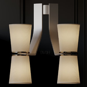 3D sconce isaac lighting muse model