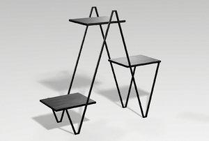 stand metalness 3D model