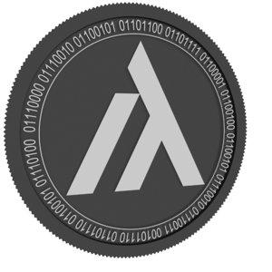 tera black coin 3D model