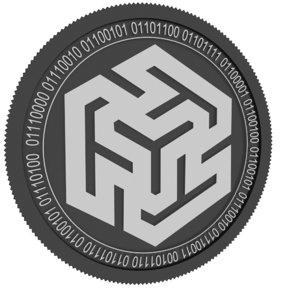 ternio black coin 3D model