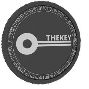 thekey black coin 3D model