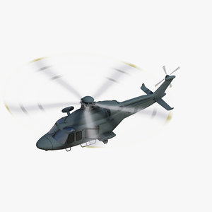 3D mh-139 grey wolf