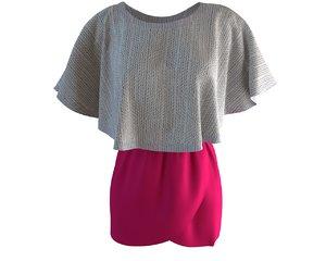 3D designer tulip skirt