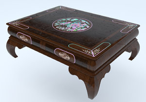 ming dynasty coffee table model