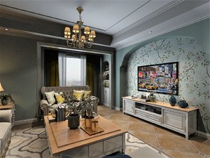 3D model living room dining set