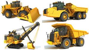 3D model mining vehicle