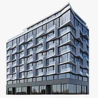 Modern residential building 3