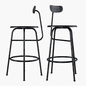 menu afteroom counter chair 3D model