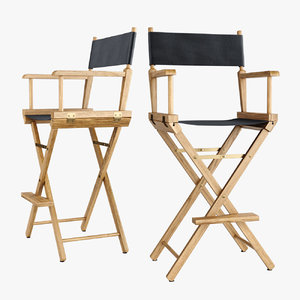 3D directors chair los