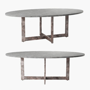 3D model mecox table