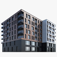 Modern residential building 6