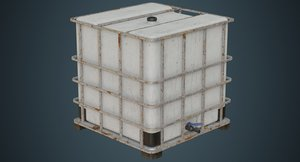 ibc tote contains 2b 3D model