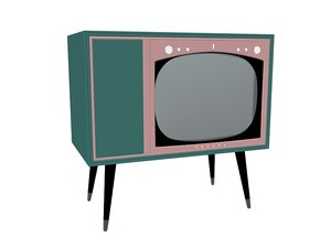 television electron 3D model