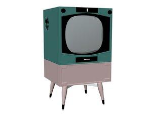 tv vintage model