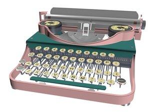 printer type machine 3D