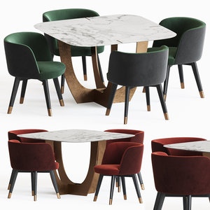 3D colette dining chair