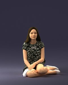 3D scanned human ready