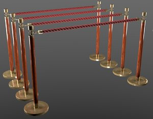 3D partition pole model
