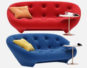 ploum medium sofa 3D model