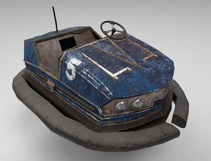 abandoned pripyat bumper car-dodgem model