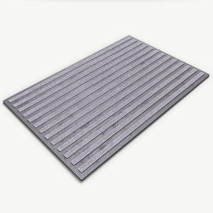 3D realistic door mat model