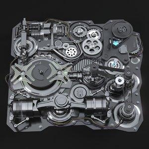 animation mechanism 3D
