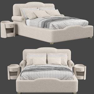 3D estetica vision palladium bed