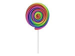 lollipop candy food 3D model