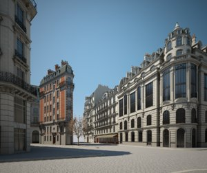 urban buildings 3D
