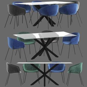 3D linea furniture vanya chair