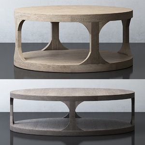 martens coffee table 3D model