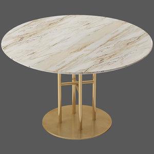 coco republic flex table 3D model