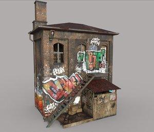 abandoned house 3D