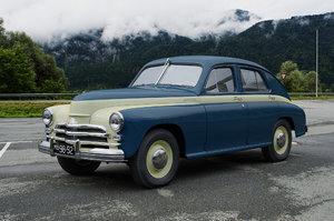 pobeda 1955 3D model