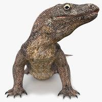 Komodo Dragon Animated