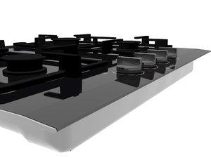 3D model iq700 gas hob 60